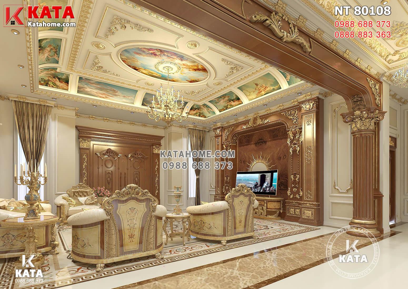 Một góc view đẹp thiết kế nội thất phòng khách đẹp