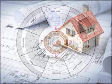 Hình ảnh: Bản thiết kế nhà theo phong thủy là điều cần thiết khi xây dựng nhà
