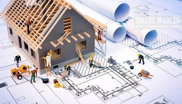 Hình ảnh: Thế và hướng nhà khi xây dựng