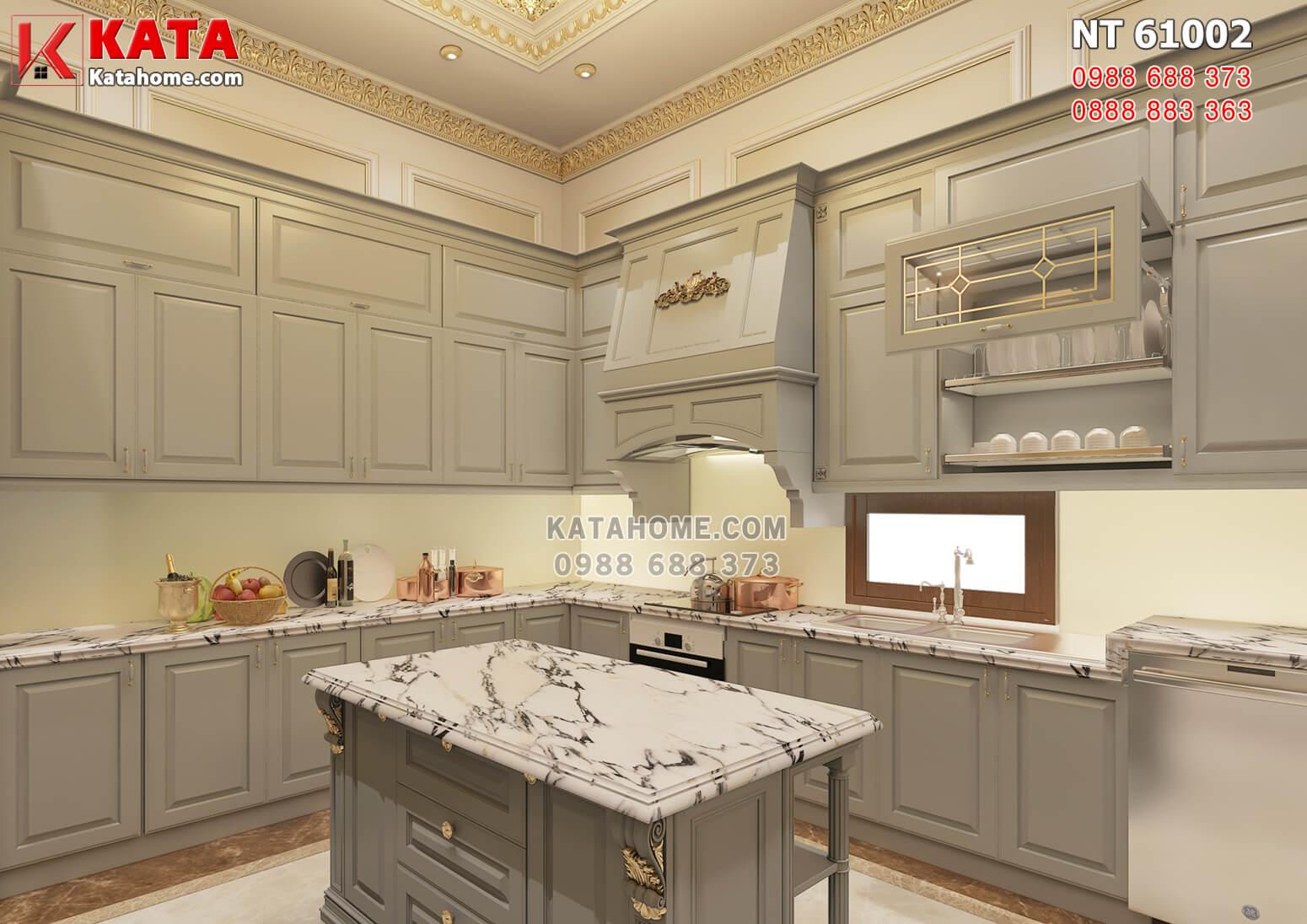Hình ảnh: Nội thất phòng bếp sang trọng, tiện nghi