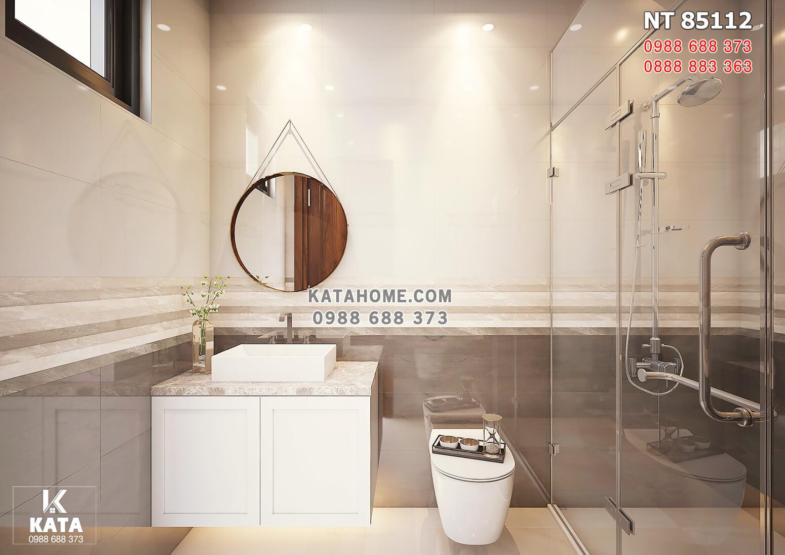 Hình ảnh: Không gian phòng vệ sinh tầng 2