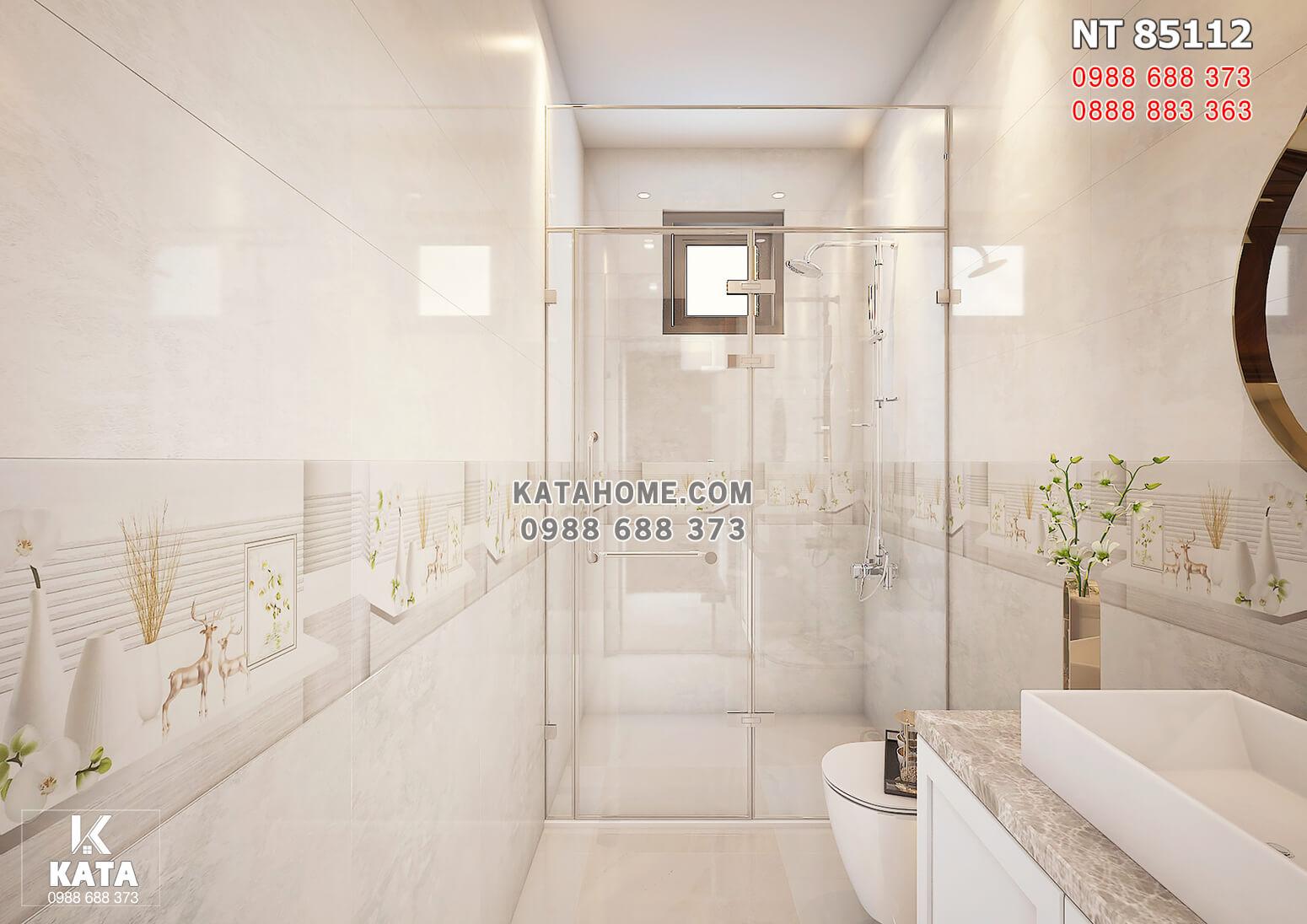 Hình ảnh: Không gian phòng vệ sinh phòng ngủ Master