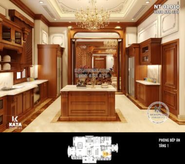 Hình ảnh: Phòng bếp sạch sẽ và thoáng đãng - NT 01010