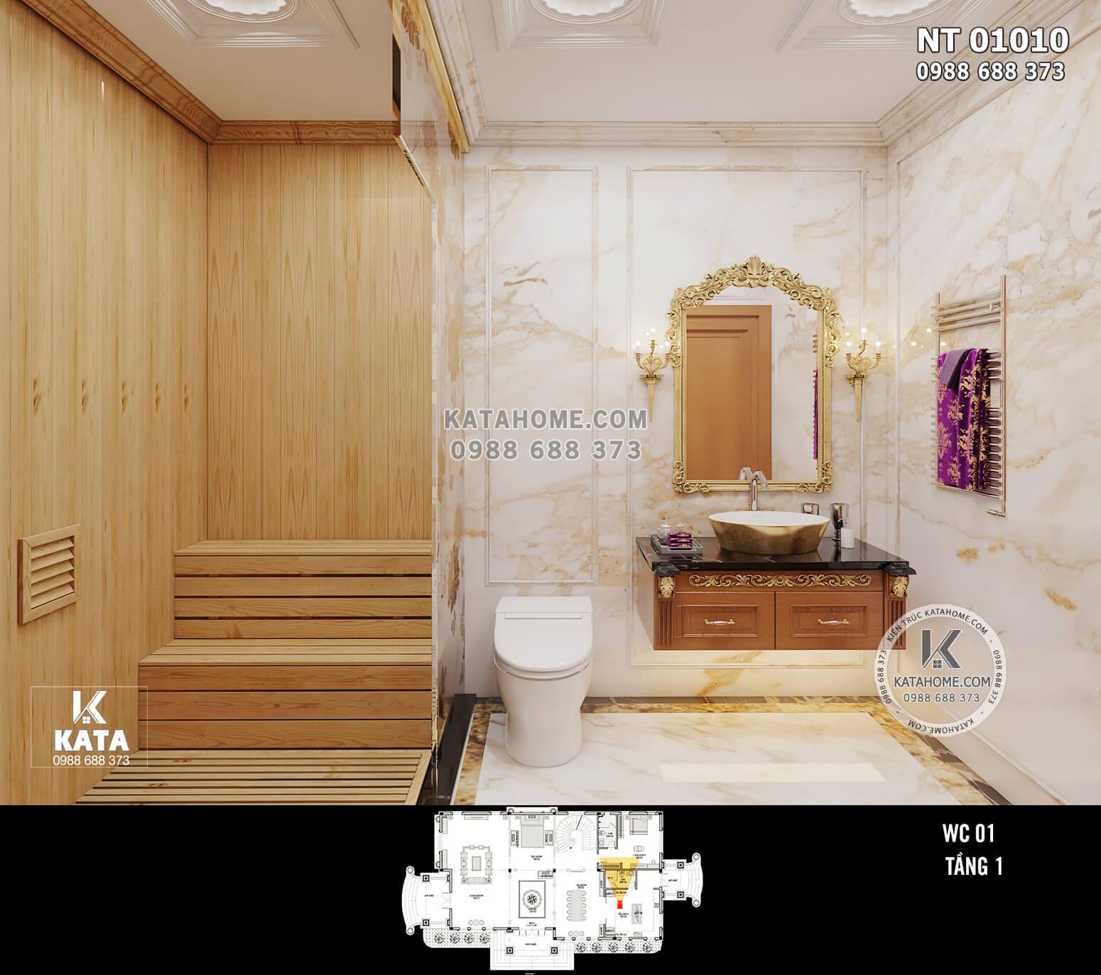 Hình ảnh: Phòng tắm tiện nghi và có giá trị thẩm mỹ cao - NT 01010
