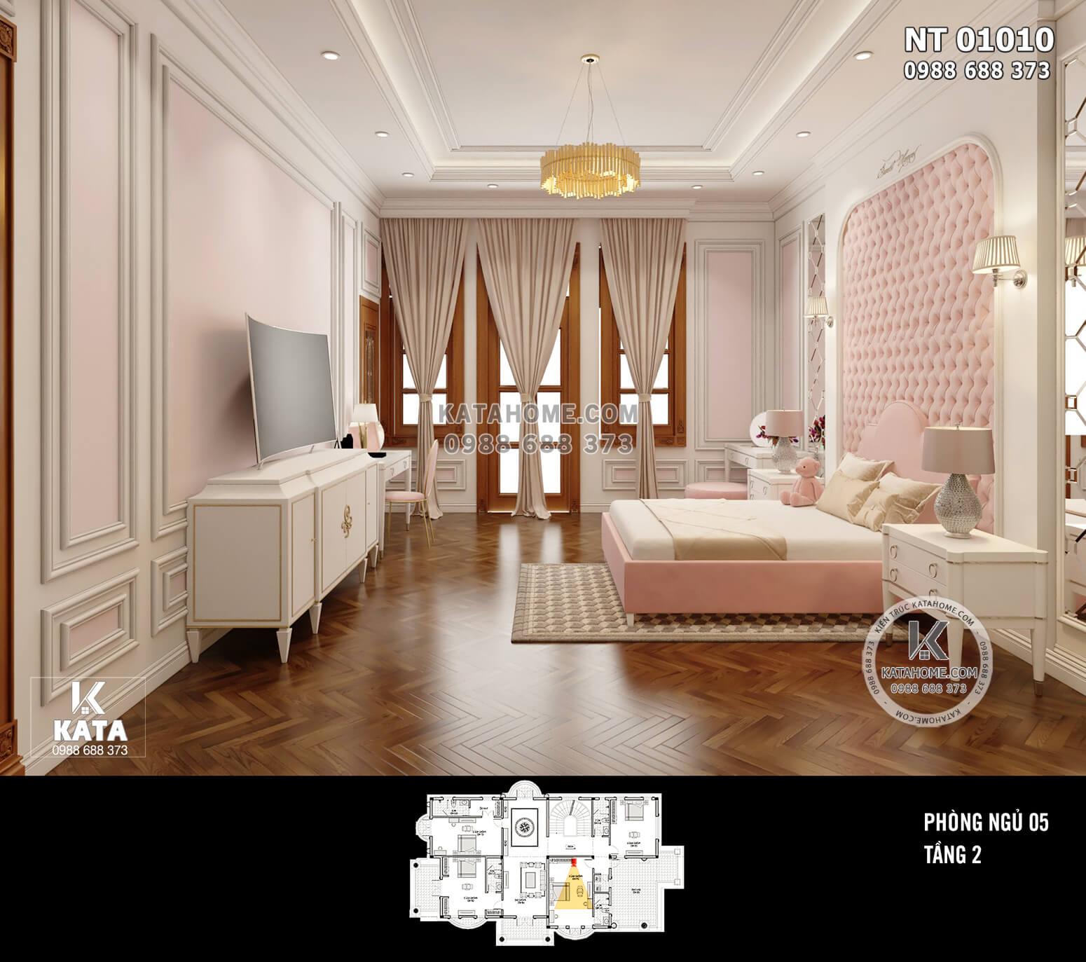 Hình ảnh: Thiết kế phòng ngủ đẹp - NT 01010