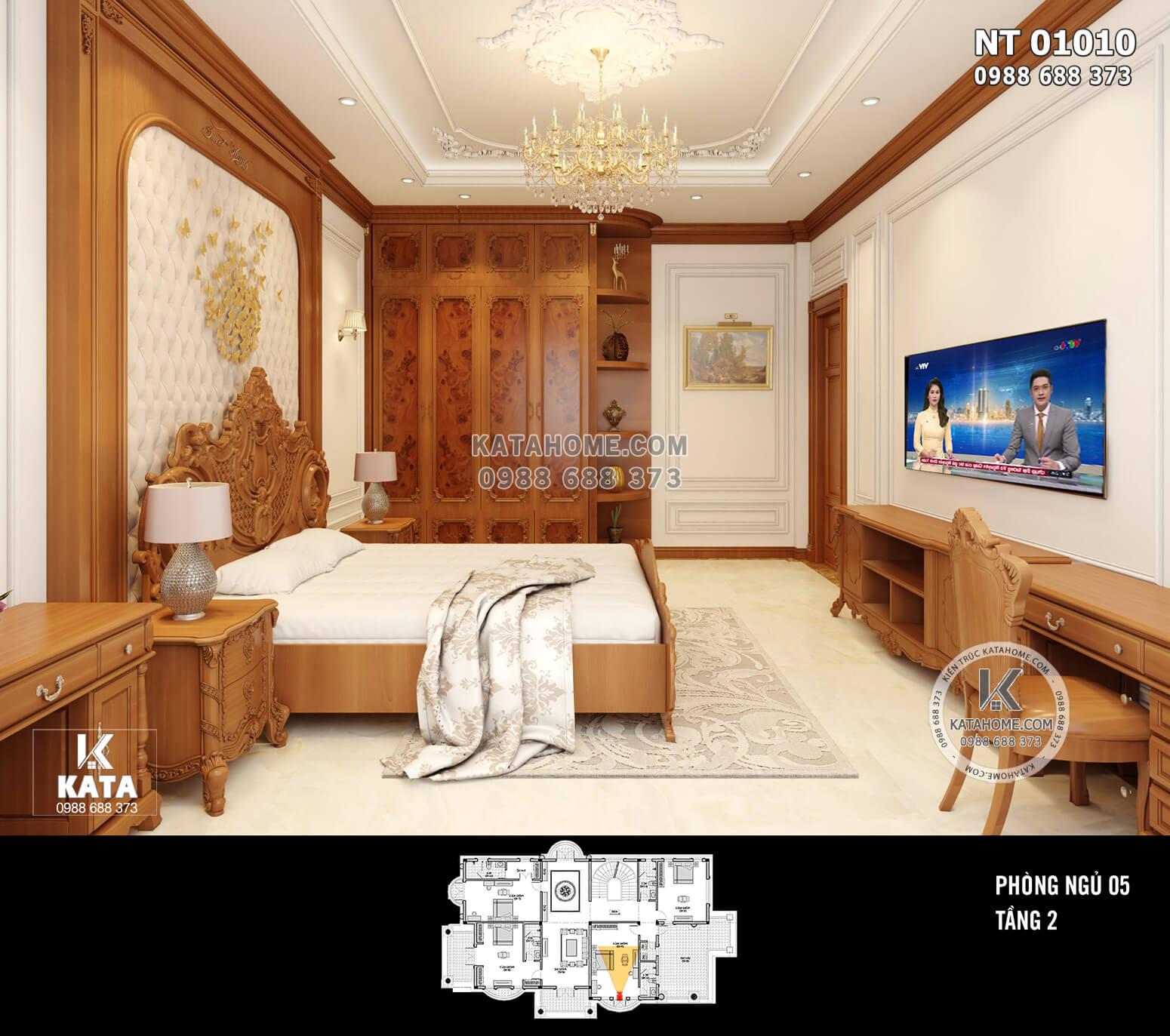 Hình ảnh: Không gian phòng ngủ sang trọng đẳng cấp - NT 01010