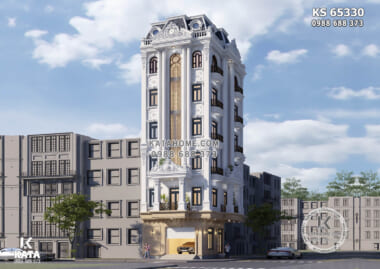 Hình ảnh: Vẻ đẹp của lối kiến trúc tân cổ của tòa khách sạn 3 sao cao 7 tầng