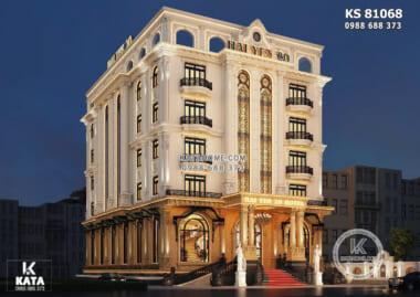 Hình ảnh: Thiết kế khách sạn 6 tầng 600m2 sàn đẹp, đẳng cấp tại Hà Nội